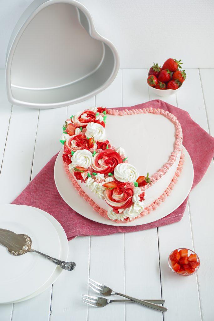 Erdbeer Muttertags Herz