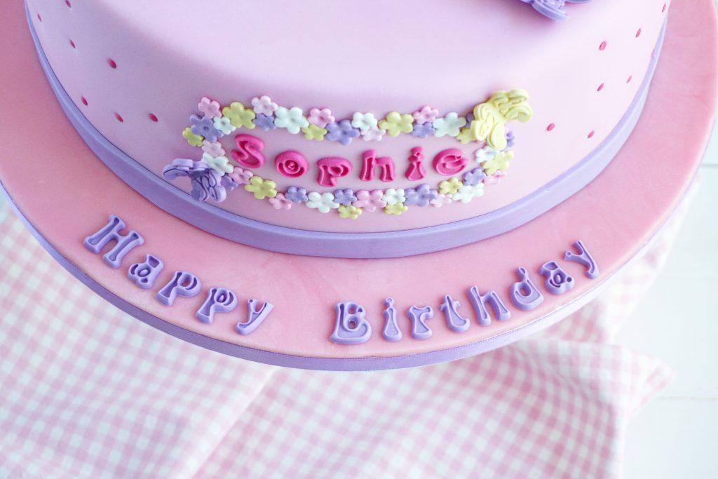 Cakeboard Happy Birthday