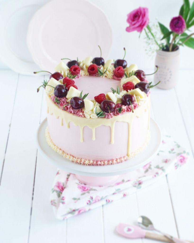 Kirsch Drip Cake