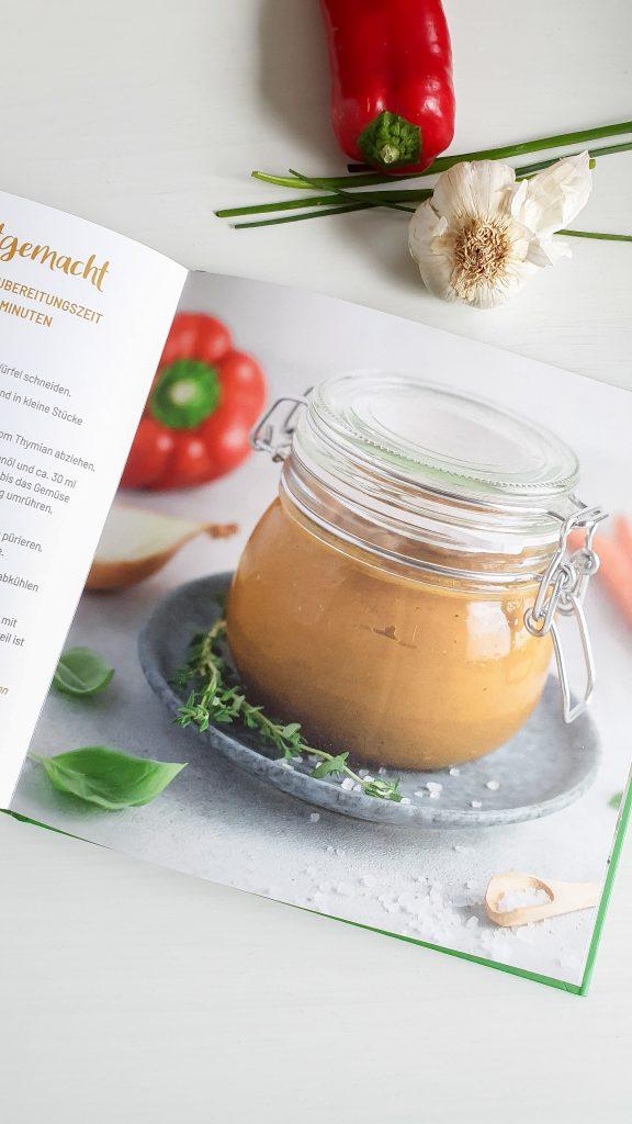 Kochbuch Selbstgemachte Gemüsebrühe