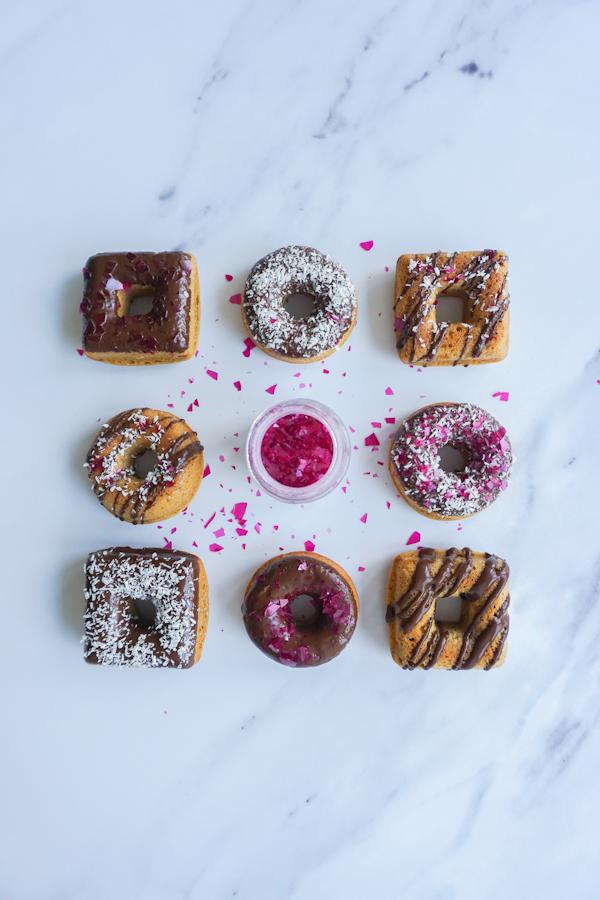 Mini Schokoladen Donuts