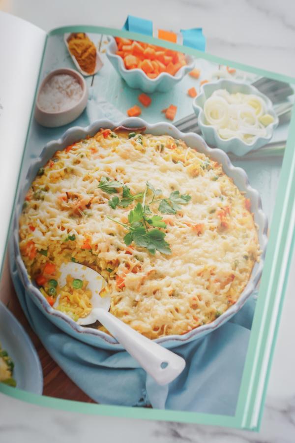 Reis Gemüse - Auflauf