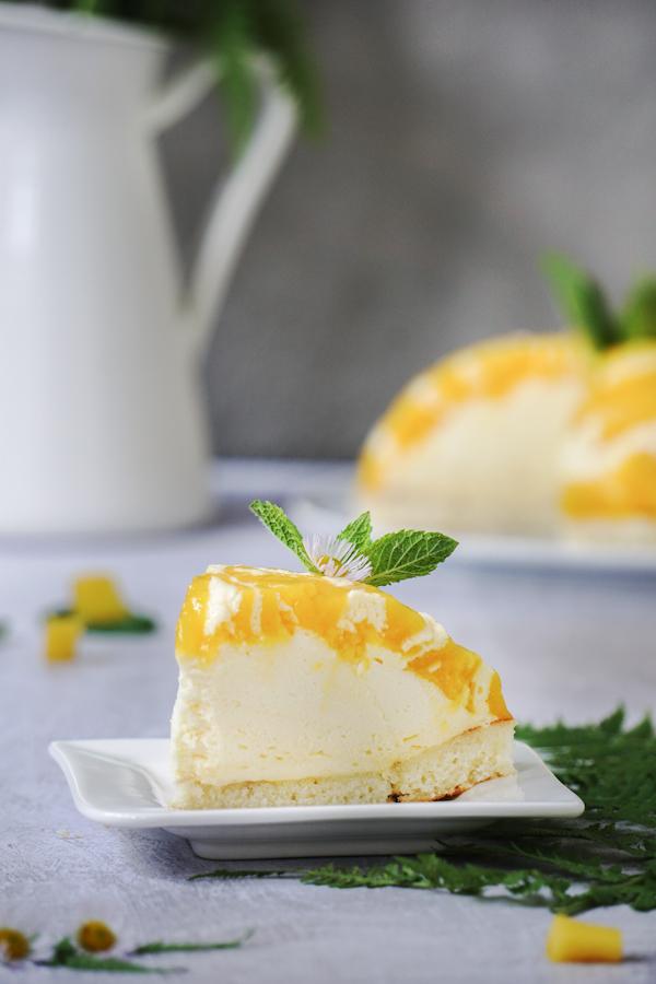 Anschnitt Dessert