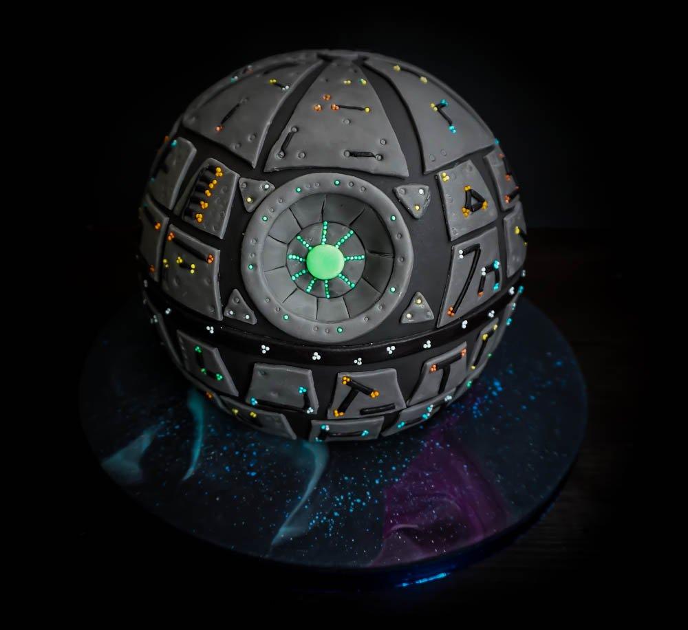 Star Wars 3d Torte Fur Fotgeschrittene Hobbybacker Back Bienchen
