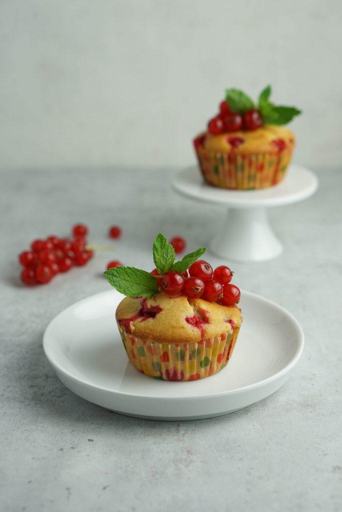 Johannisbeer-Muffin Fruktosearm