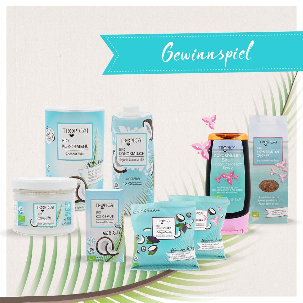 Kokos Produkte Tropicai