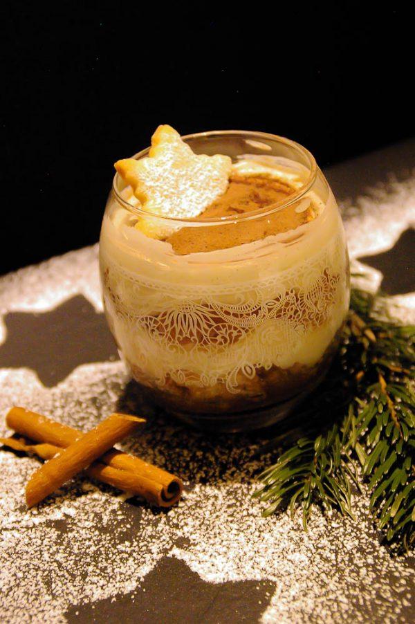 Weihnachts Dessert Apfel Zimt Back Bienchen